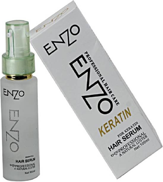 enzo KERATIN HAIR SERUM FOR DAMAGED HAIR FALL CONTROL SHINY HAIR INSTANT SHINE