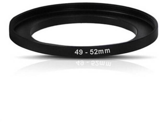 BOOSTY 49mm To 52mm 49-52MM Lens Step Up Filter Ring Stepping Adapter Metal Step
