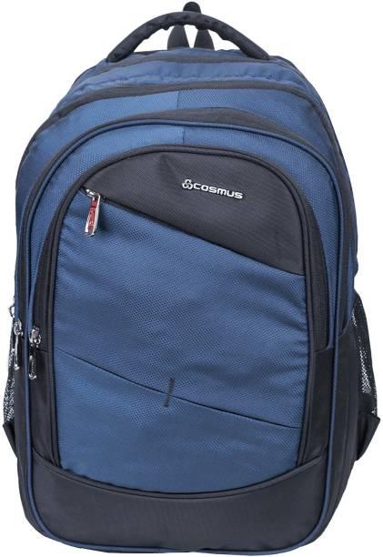 84e191b0c70e Cosmus Large 36 Litre Polyester Navy Travel Backpack - Big School Bag 36 L  Backpack