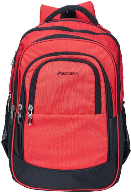 d9cb7f421a Cosmus Kingston Large 36 Litre Polyester Red Travel Backpack - Big School  Bag 36 L Backpack
