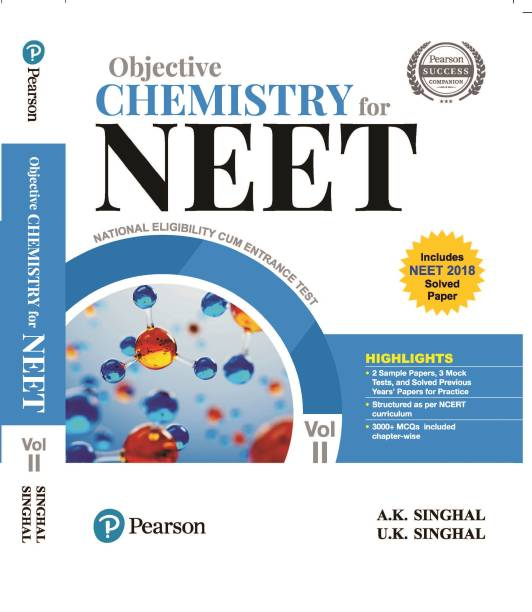 Objective Chemistry for NEET Vol.2, 2nd Edition by Pearson