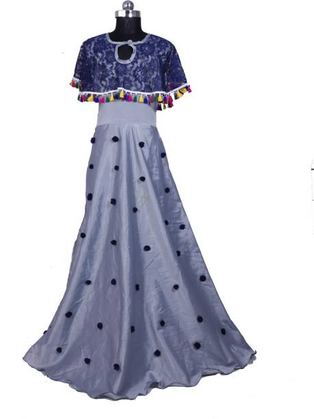 b0ce0dd7b satyamfab Girls Maxi Full Length Party Dress