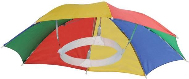 Nexis Sundry Plastic Hands Free Umbrella Hat Umbrella