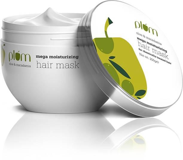 Plum Olive & Macadamia Mega Moisturizing Hair Mask