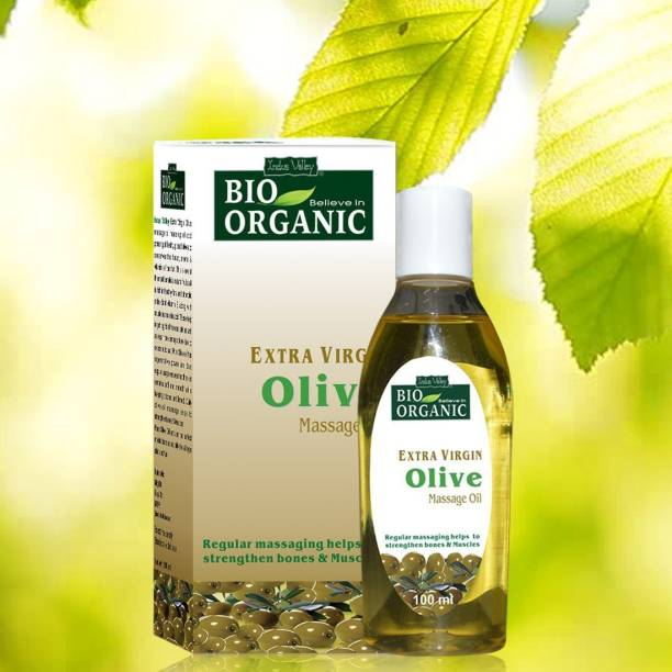 Indus Valley BIO Believe-in-Organic Extra Virgin Olive Massage Oil