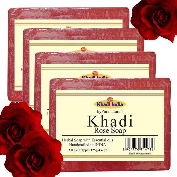 KHADI Rose Set of 4