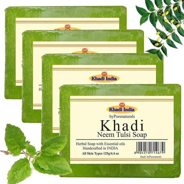 KHADI Neem Tulsi Set of 4