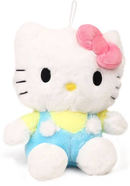 387d2ec25 Hello Kitty Hello Kitty Plush Blue and Yellow Colour - 40 cm - 40 cm
