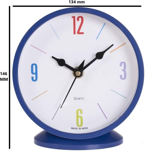 Smile2u Retailers Analog Blue Clock