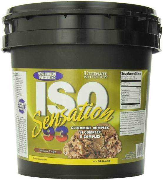 c49ebfe0a Ultimate Nutrition ISO Sensation 93 Whey Protein