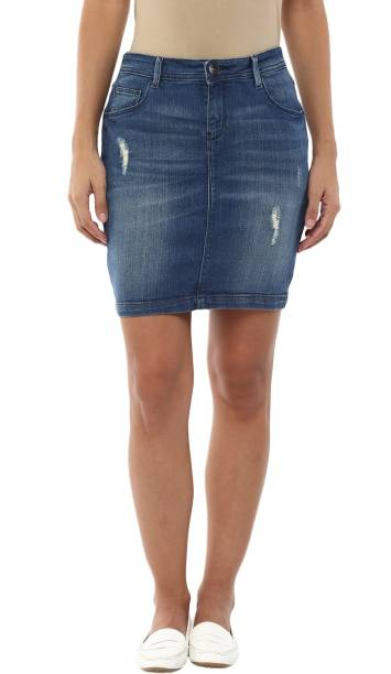 d516e3f6a7f Sf Jeans By Pantaloons Skirts - Buy Sf Jeans By Pantaloons Skirts ...