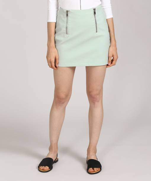 ff5e0f5b143c Price -- High to Low. Newest First. Forever 21 Solid Women s Tube Light  Green Skirt
