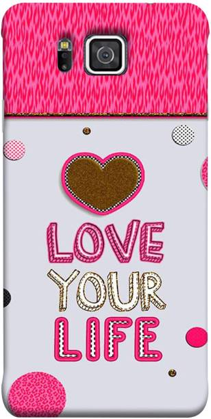 Lifedesign Back Cover for Samsung Galaxy Alpha, Samsung Galaxy Alpha S801