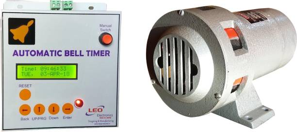 Leo Automatic School Bell Timer & Siren (combo) Wired Door Chime