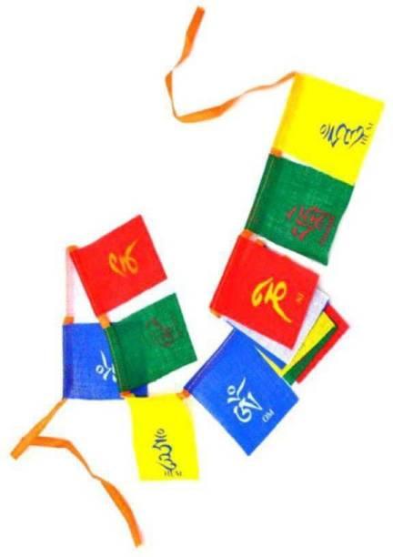 SEGGO Tibetan Buddhist Prayer Flag For  Royal Enfield Classic 500 Rectangle Outdoor Flag Flag