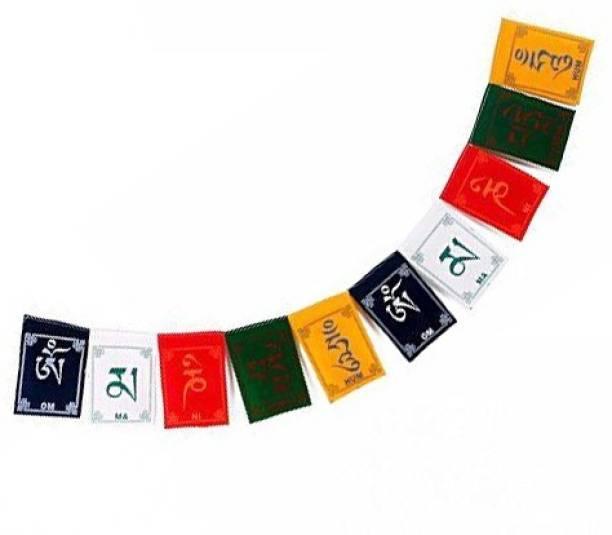SEGGO Tibetan Buddhist Prayer Flag For  Bajaj Pulsar 180 Rectangle Outdoor Flag Flag