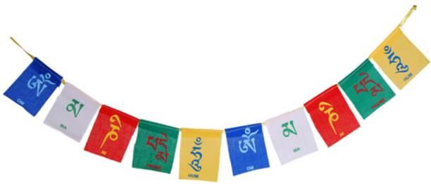 SEGGO Tibetan Buddhist Prayer Flag For   Royal Enfield Bullet 350 Rectangle Outdoor Flag Flag