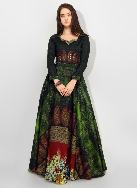 Banarasi Gown