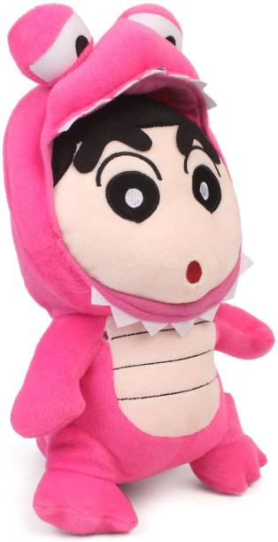 My Baby Excels Shin Chan in Pink Costume Plush 35 cm  - 35 cm