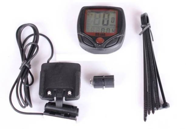 LogicInside High Quality Waterproof Bicycle Speedometer, Odometer, Watch, etc. 15 Function Device Wired Cyclocomputer