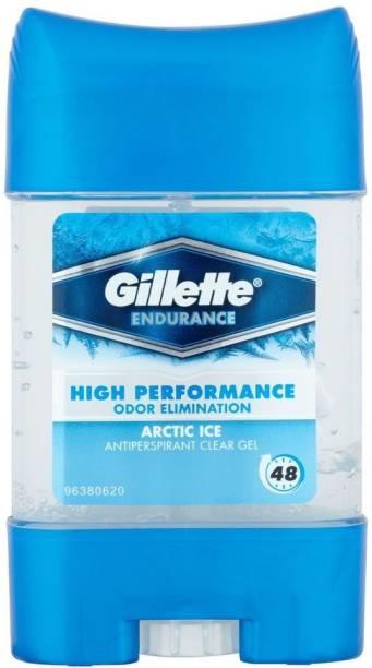 GILLETTE Endurance Antiperspirant Arctic Ice Deo Stick - 70 ml Deodorant Gel  -  For Men