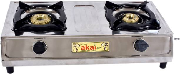Akai akai_smart Stainless Steel Manual Gas Stove