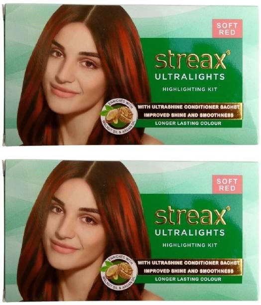 Streax Ultralight Highlighting Kit Soft Red , Soft Red