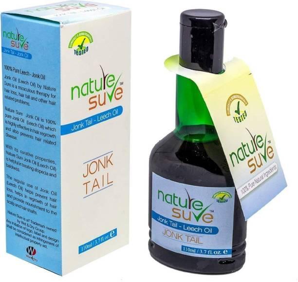 Nature Sure Jonk & Leech Oil 110 ml Hair Oil
