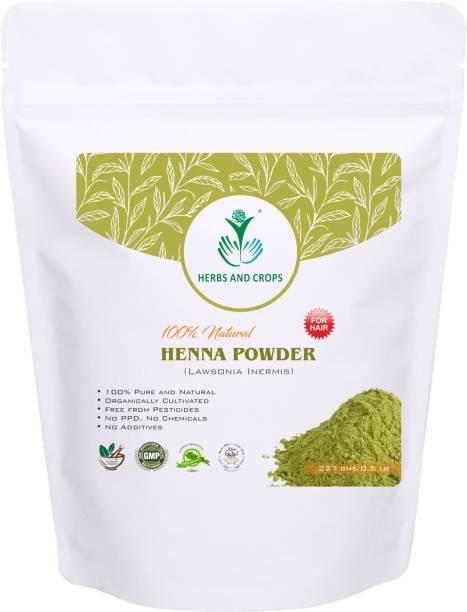 Herbs and Crops Natural Henna Powder