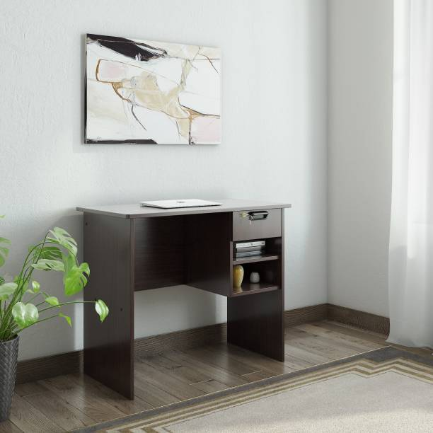 office wooden table classic woodness cali engineered wood office table buy products online at best price in india all categories