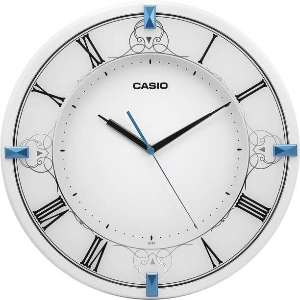 CASIO Analog 33 cm X 33 cm Wall Clock