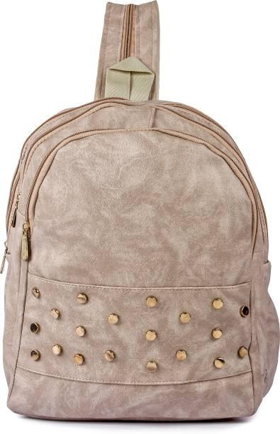 1c984229bdd1 Kleio Designer Studded Backpack for Women   Girls 12 L Backpack