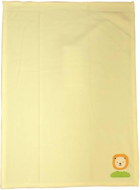 MeeMee Solid Single Crib Baby Blanket