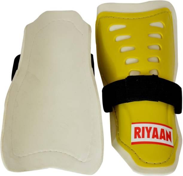 RIYAAN shin guard yellow pack of 1 pair Football Shin Guard