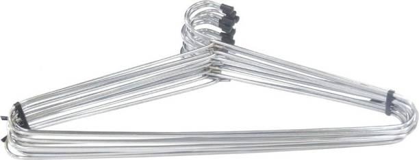 HANDY Monas Glossy Steel Pack of 12 Hangers