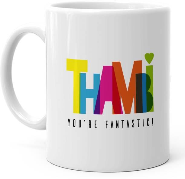 HOT MUGGS Thambi Youre Awesome Ceramic Coffee Mug