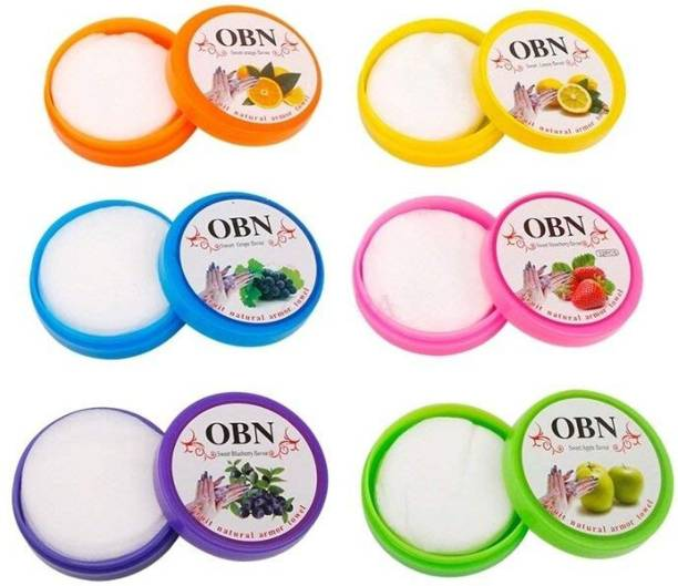 OBN Nail Polish Remover Fruit Natural Armor Towel Tissue Wipes