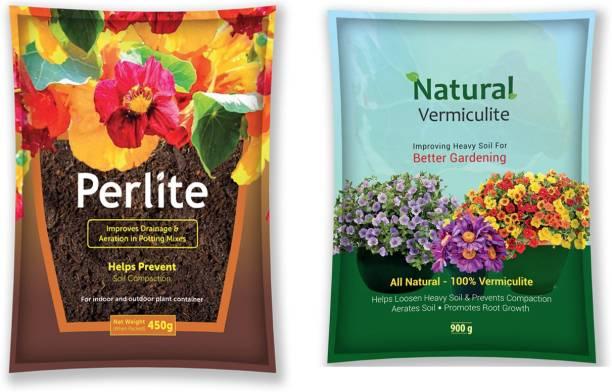 DIVINE TREE Perlite and Vermiculite Growing Media for Organic Gardening Horticultural Grade Pesticide