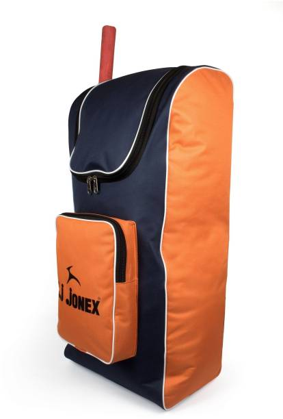 2fb88646944f JJ Jonex Fine Cricket kit bag for 5 to 12 Years Cricket kit bag Red Orange