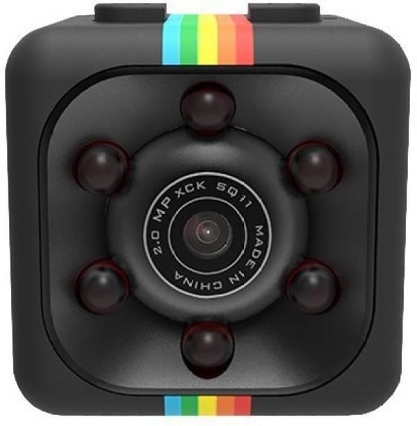 IBS MINI NIGHT VISION CAMERA SQ11 HD Camcorder Night Vision DVR 1080P Sports Portable Video Recorder Micro Camera 1080P 360 DEGREE ROTATE 90 DEGREE ADJUSTABLE BRACKET Sports Mini DV Voice for Car Driving Sports and Action Camera