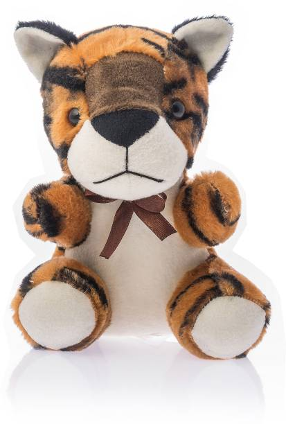 Miss & Chief Sitting Tiger  - 17 cm