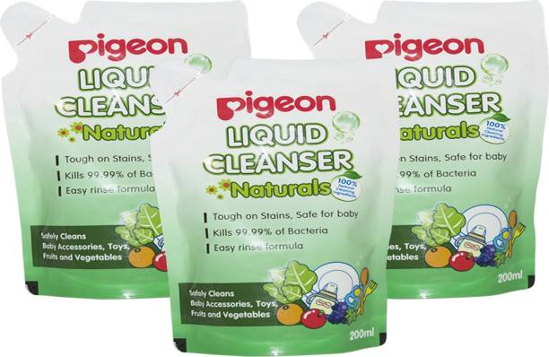 Pigeon LIQUID CLEANSER NATURALS COMBO (PACK OF 3)