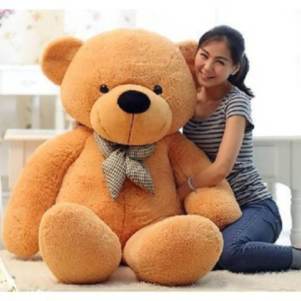 Sprinkles Cute Bootsy Brown 90 Cm 3 feet Huggable And Loveable For Someone Special Teddy Bear  - 90 cm