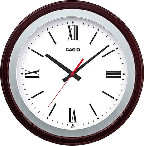CASIO Analog 35 cm X 35 cm Wall Clock