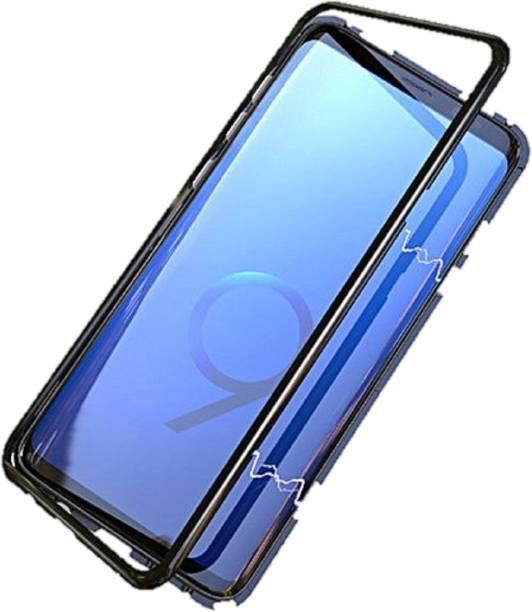 Accessories Kart Front & Back Case for samsung S8 magnetic case original black