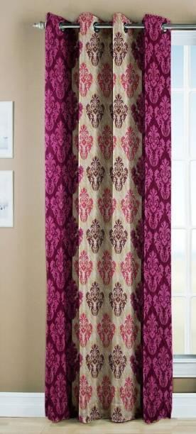 Optimistic Home Furnishing 210 Cm 7 Ft Polyester Window Curtain Single