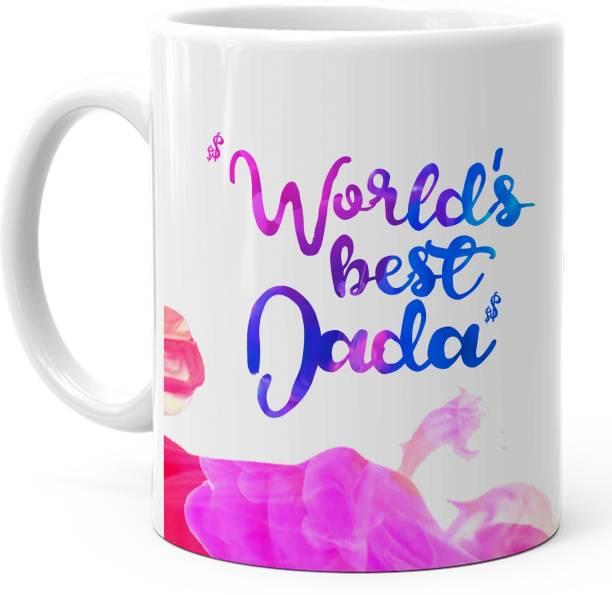 HOT MUGGS Worlds Best Dada Ceramic Coffee Mug