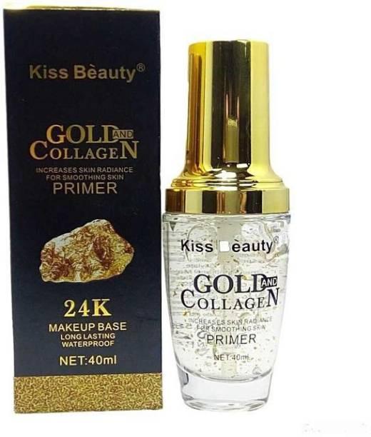 Kiss Beauty Gold Collagean 24K Primer  - 40 ml