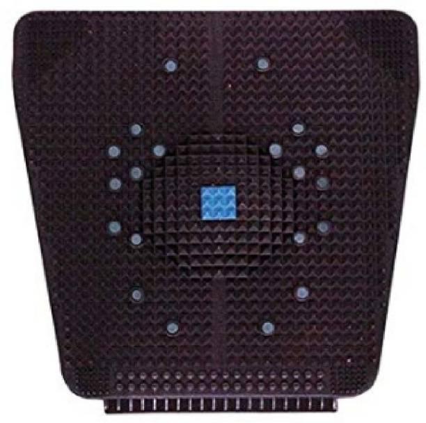 VIVAAN Acupressure Mat Relieve Stress Pain Acupuncture (Black) Black 10 mm Accupressure Mat