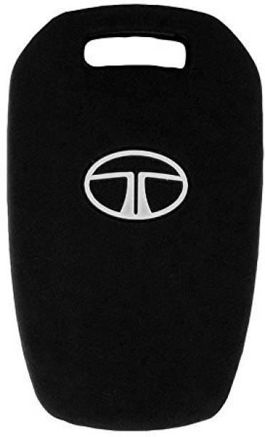 Jadebin Silicone Key Cover for Tata Manza/Vista / Indigo Remote Key Car Key Cover